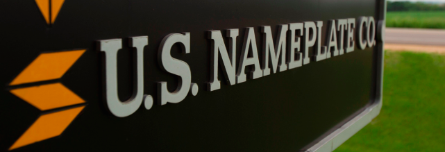 custom metal nameplates
