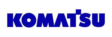 KOMATSU mining equipment decals
