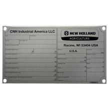 industrial specification tags