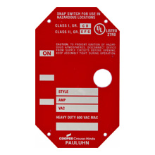 blank specification tags