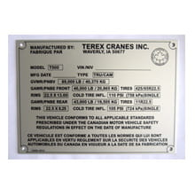 metal nameplates for original equipment manufacturer