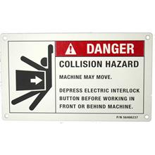 industrial safety label