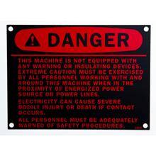 industrial safety tag