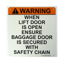 custom industrial warning signs